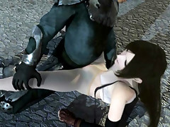 Final fantasy free 3D sex movies