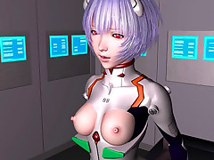 Hentai 3D bitch in a space suit in nonstop banging action