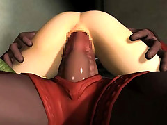 Hentai 3D tentacles monster sex video clips